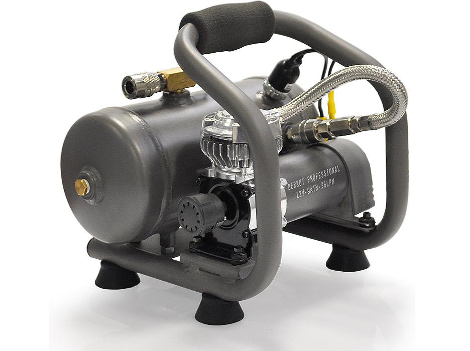 Автомобильный компрессор с ресивером своими руками